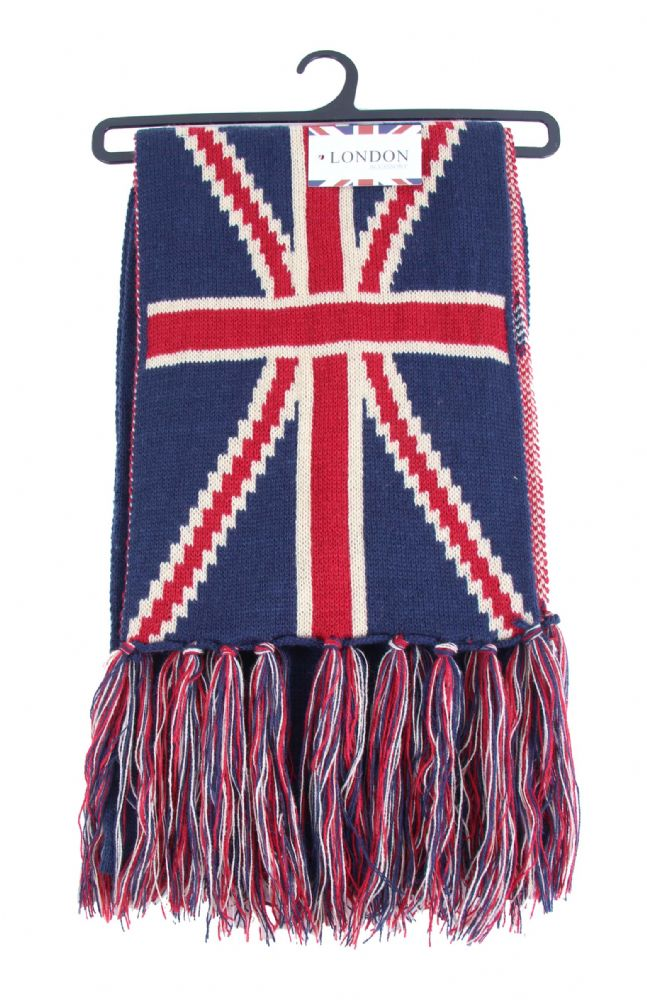 Union jack Knitted scarf SCR5658